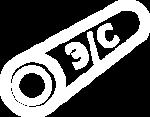 Труба э/с (электросварная) оцинкованная