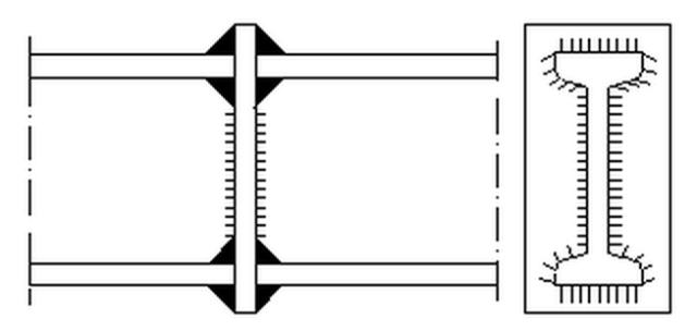 Технология соединения двутавров